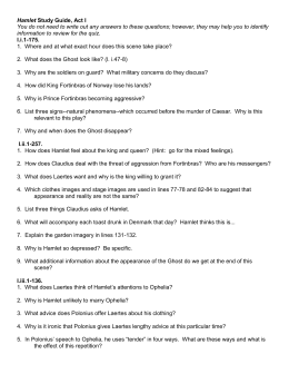 hamlet study guide questions Our free study guides for the english basics will help direct you to the most  important  one of these is writing certain letters in their capital or uppercase  form.