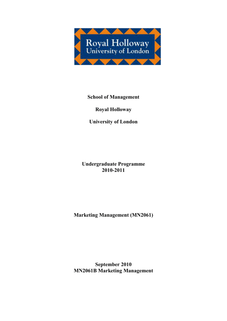 rhul coursework cover sheet