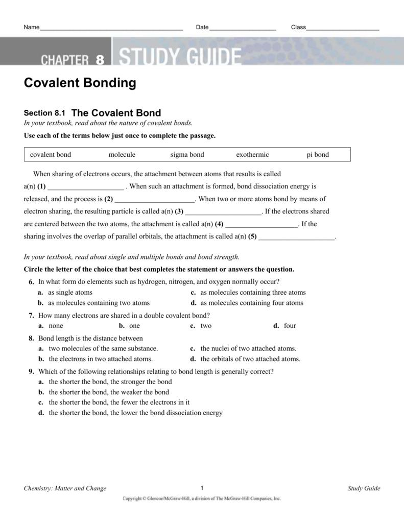 Study_Guide_Covalent_Bonding_Teacher_Editable