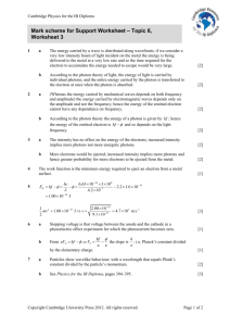 Extension worksheet – Topic 6 - Cambridge Resources for the IB