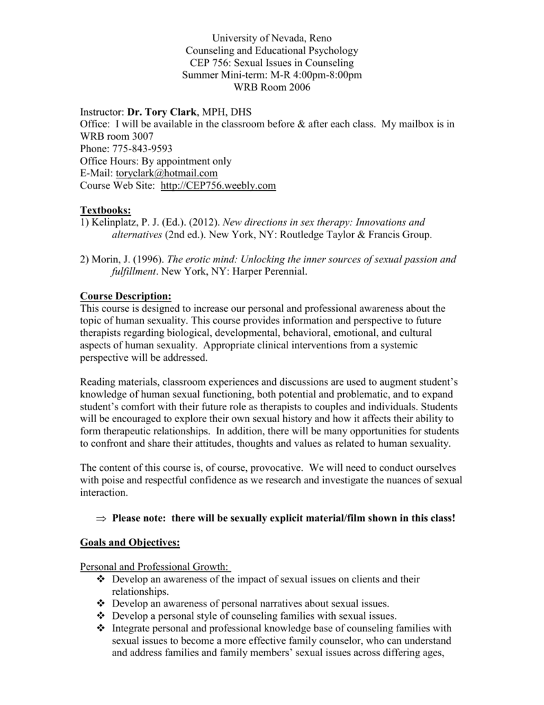 Human sexuality research paper topics