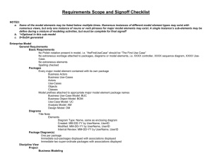 Requirements Scope and Signoff Checklist