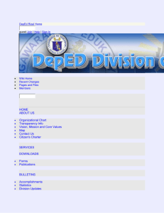 DepEd Rizal - DISTRICT SUPERVISOR