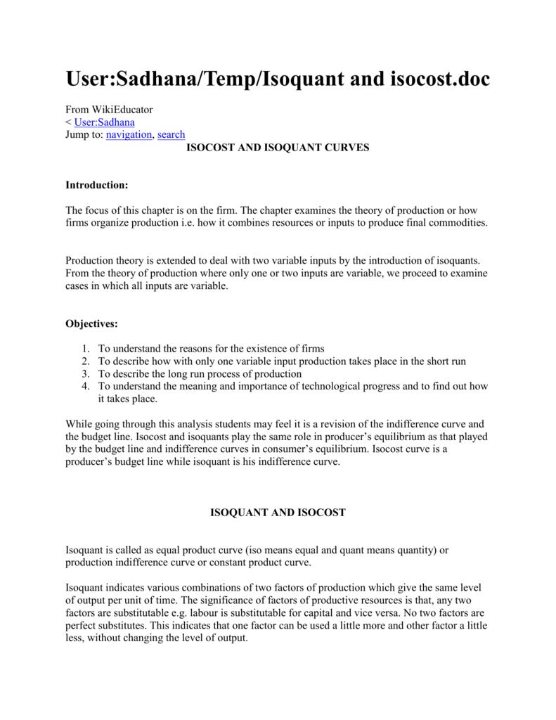 Isoquants pdf. 3 Most Important Properties of Isoquants ...