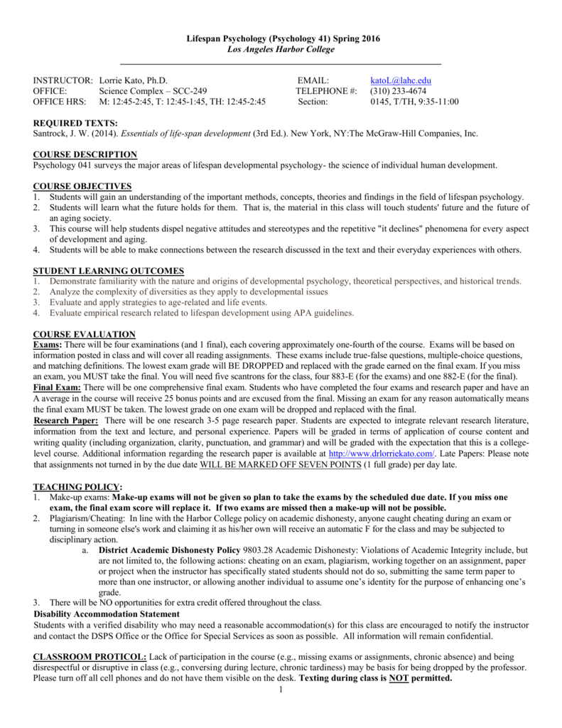 PSY341 Adolescent Psychology Final Exam Study Guide ...