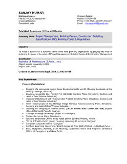 RESUME - The Uppal Group