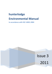 Hunterlodge Environment Manual