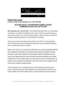 PRESS RELEASE Contact: Caster Communications, Inc. at 401.792