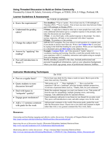 Handout with hyperlinks