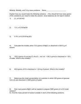 colligative properties practice problems