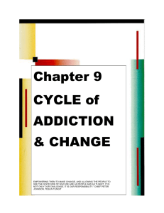 9. CYCLE of ADDICTION & CHANGE ()