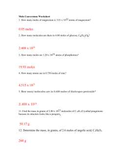 Mole ratio worksheet as well as mole conversion worksheet answer ...
