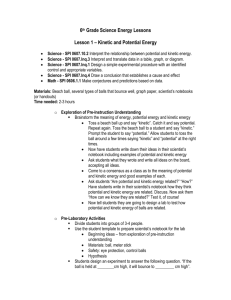 Unit Plan 6th Grade Science