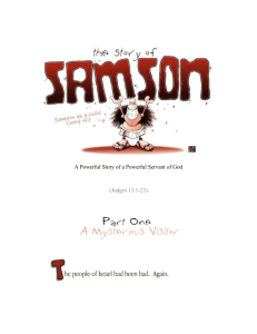 Bible Stories for Kids - Samson and Delilah, Part 1