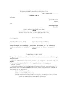 SUPREME COURT REPORTS [2011] 11 S C R