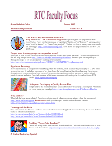 Volume 3 No. 6 - Renton Technical College