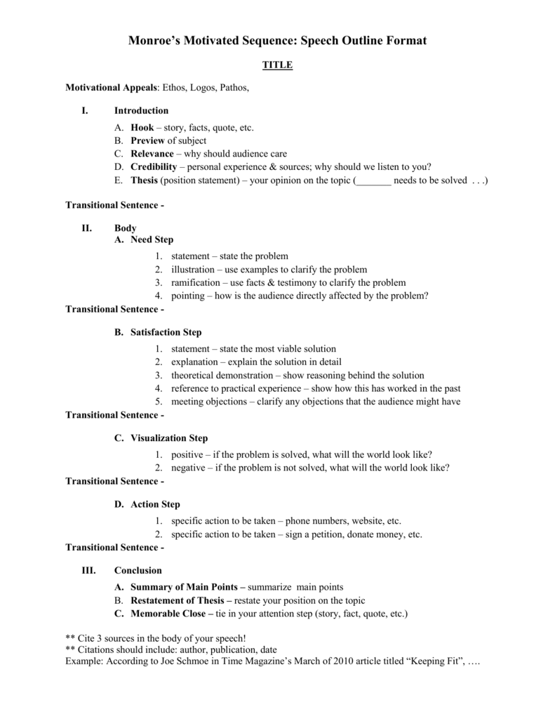 memorable statement in a speech examples