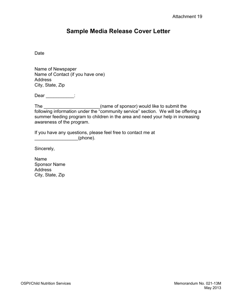 Community Service Letter Sample from s3.studylib.net
