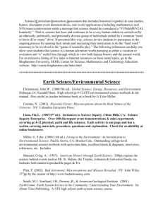 Earth Science/Environmental Science