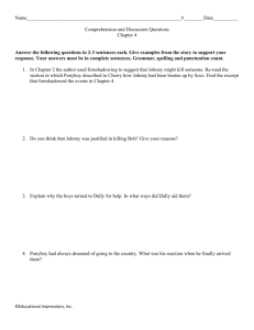 Outsiders Study Questions Chapter 4