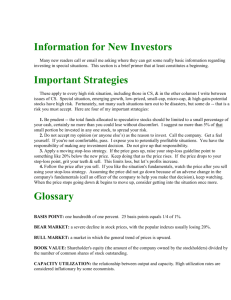 Information for New Investors