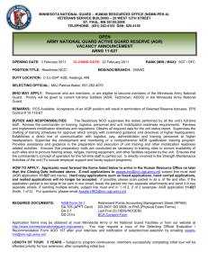 AGR Handbook - Tennessee Military Department