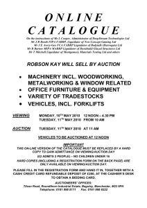catalogue - Robson Kay