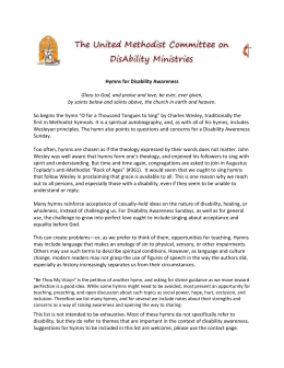 this article - Disability Ministries