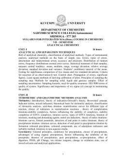 VII sem syllabus - Sahyadri Science College