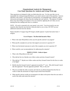 Case Study Questions for Write ups HCEMBA