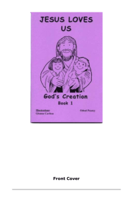 God's Creation - Mission Printing Home