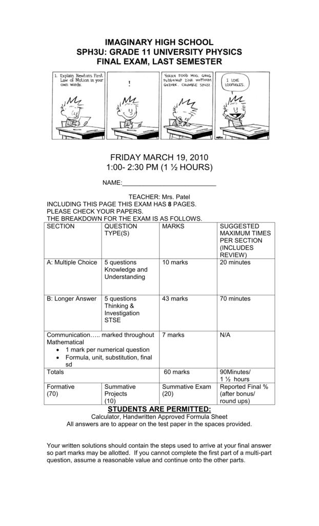 SPH3U EXAM-SHEILA PATEL - ped4126-2010