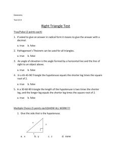 Section Quiz - Oakland High School