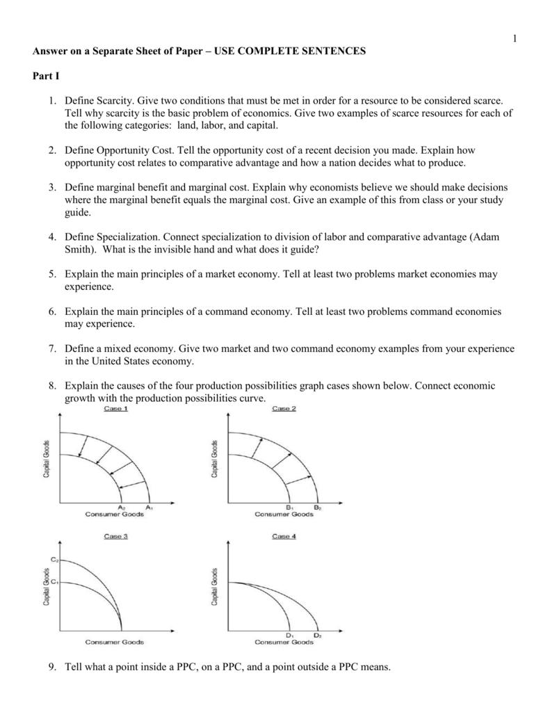 Unit One Study Guide Homework