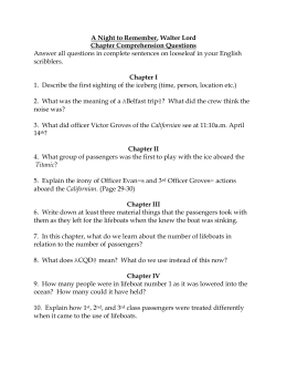 Titanic Essay Outline Please Fill Out The Following Using Details And