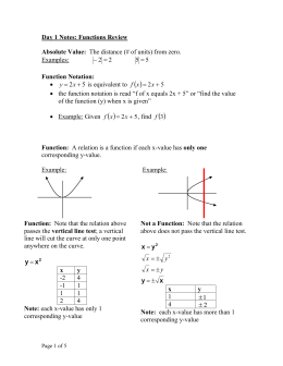 Day 1 Notes Math 11 Review - nwss