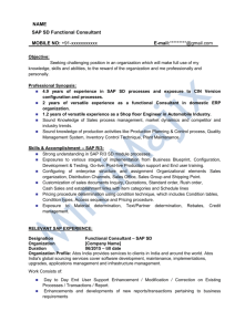 SAP SD Sample Resume-3