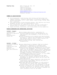 CURRICULUM VITAE - Pages - University of Wisconsin–Madison