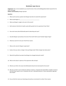 Worksheet: Super Size me - Ms. Nielsen's Courses Site