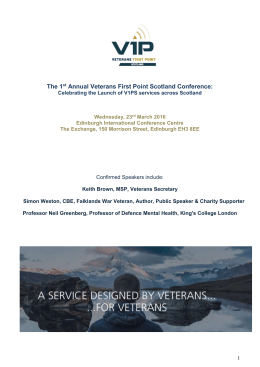 Brochure - Veterans First Point