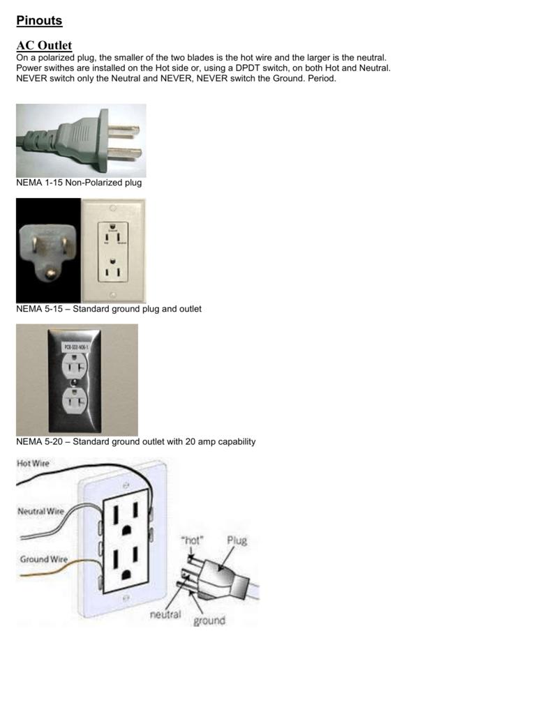 Audio St Joseph Music Foundation Polarized Plug Wiring Diagram