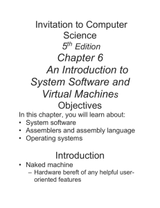 Operating system - My Webspace files