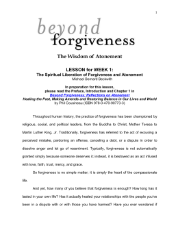 Self-Forgiveness: The Stepchild of Forgiveness Research