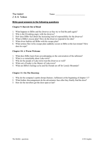 Questions ch. 9, 10 and 11