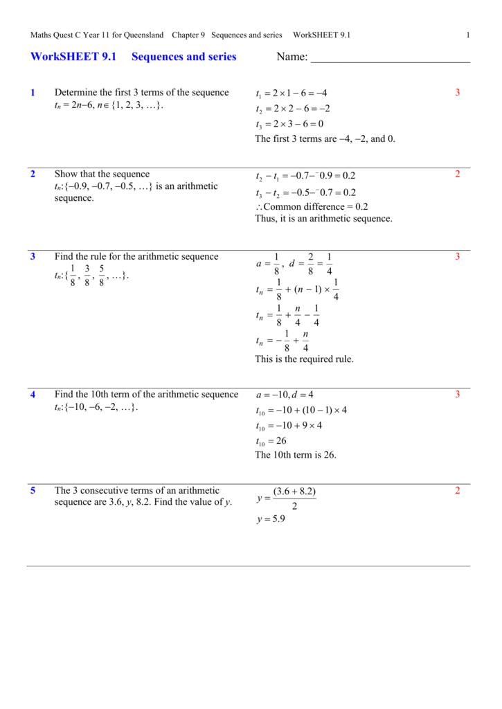 Kuta Infinite Algebra 2 Arithmetic Sequences Answers   Kuta furthermore Kuta Infinite Algebra 2 Arithmetic Sequences Answers as well sequences and series worksheet furthermore Arithmetic Sequence Worksheets furthermore Arithmetic Sequences And Series Worksheet Arithmetic Sequence also Arithmetic Sequences And Series Worksheet Worksheet Arithmetic moreover Top Twelve 10 2 Arithmetic Sequences And Series Worksheet  Kwalai additionally Sequences and series Worksheet 7 also Arithmetic Sequence Worksheets besides arithmetic sequence worksheets with answers   Koman mouldings co as well 12 1 homework and practice arithmetic sequences further geometric and arithmetic sequence worksheet math – joom club also Arithmetic Sequence Worksheet   Briefencounters as well  furthermore  furthermore . on arithmetic sequences and series worksheet