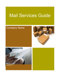 mail services customer