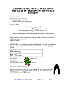 Lasswells model of communication lasswells model of communication major model summary ccuart Gallery