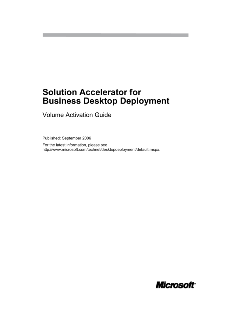 microsoft kms activation with machine creation services
