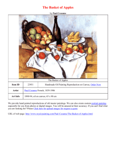 Download(Print) Word File: The Basket of Apples