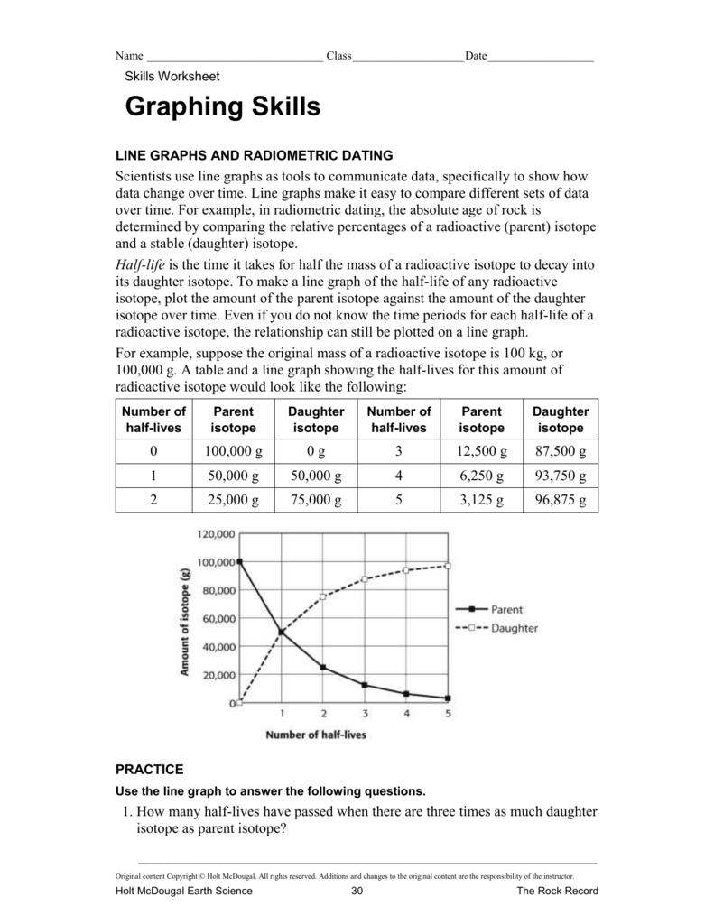 earth science holt worksheet graphing skills earth best free printable worksheets. Black Bedroom Furniture Sets. Home Design Ideas